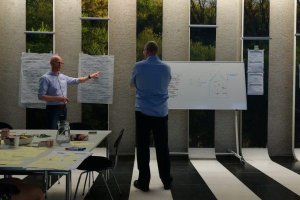REsprint dag 1: meteen feedback van de belangrijkste stakeholders