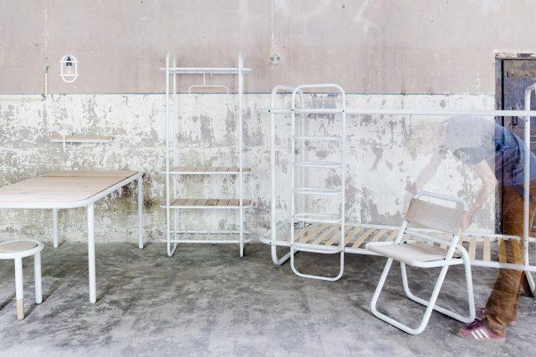 Remko van Blooey showt de BunkBed meubelcollectie
